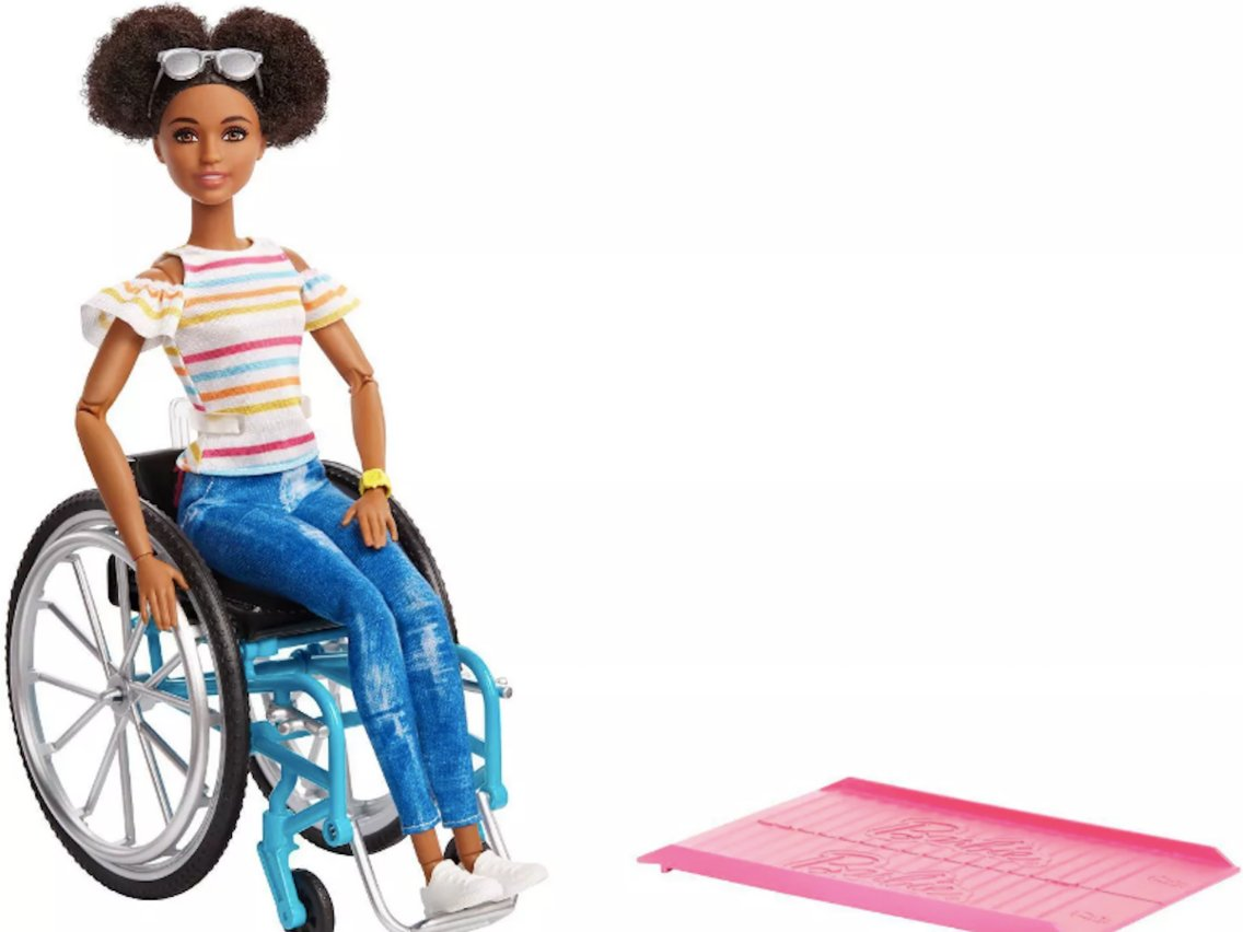Kerekesszékes Barbie